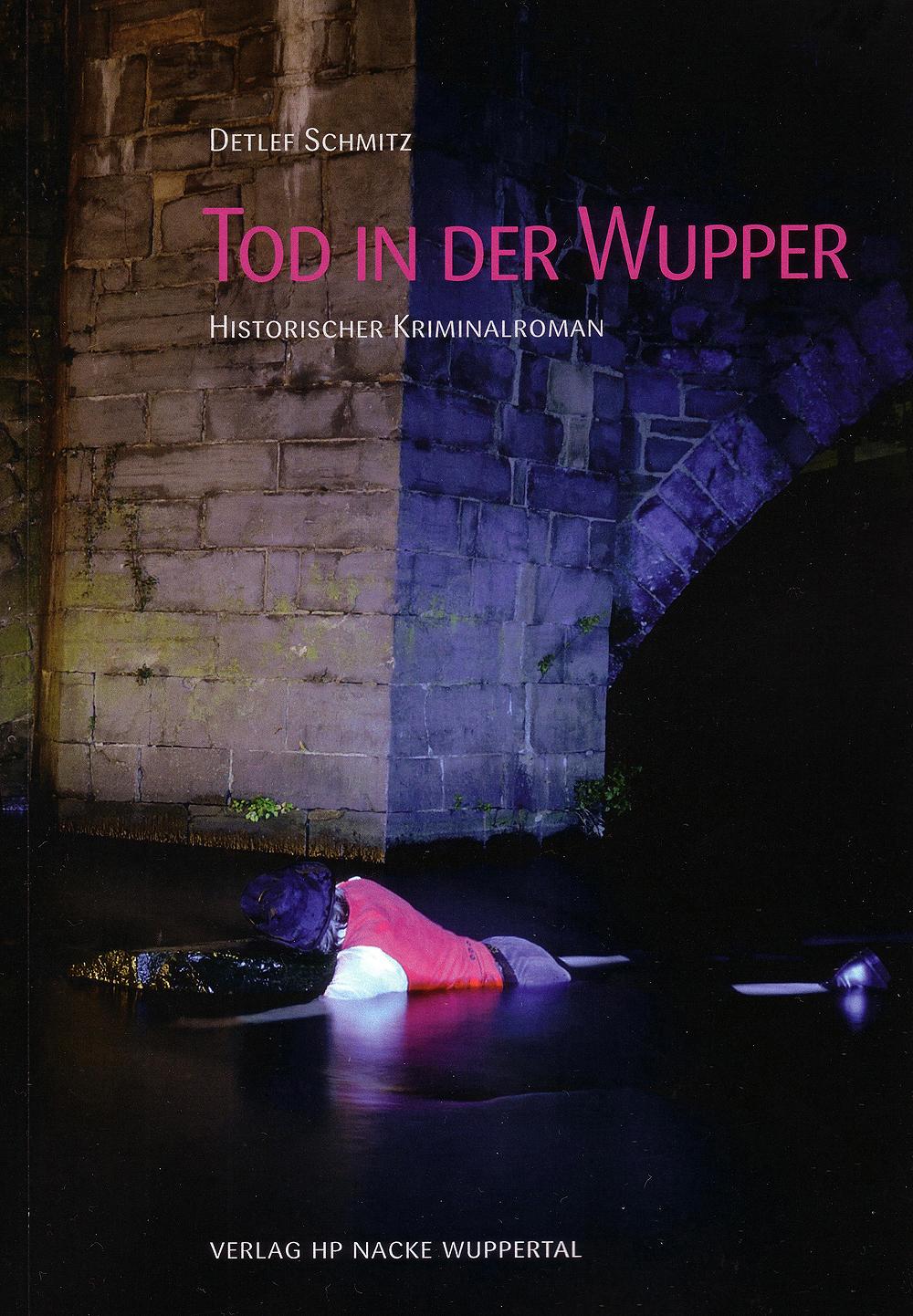 """Szenische Lesung aus dem Buch """"Tod in der Wupper"""" von Detlef Schmitz"""