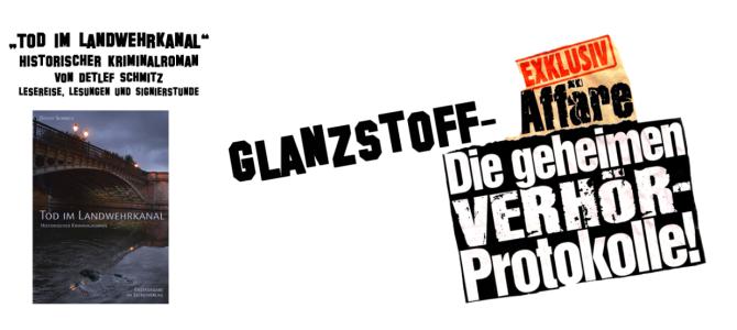 """Buchvorstellung und kulinarischer Event """"Tod im Landwehrkanal"""""""